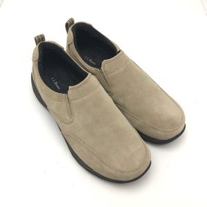 LL Bean Womens Comfort Mocs 254547 Suede Size 9.5